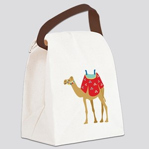 Desert Camel Canvas Lunch Bag